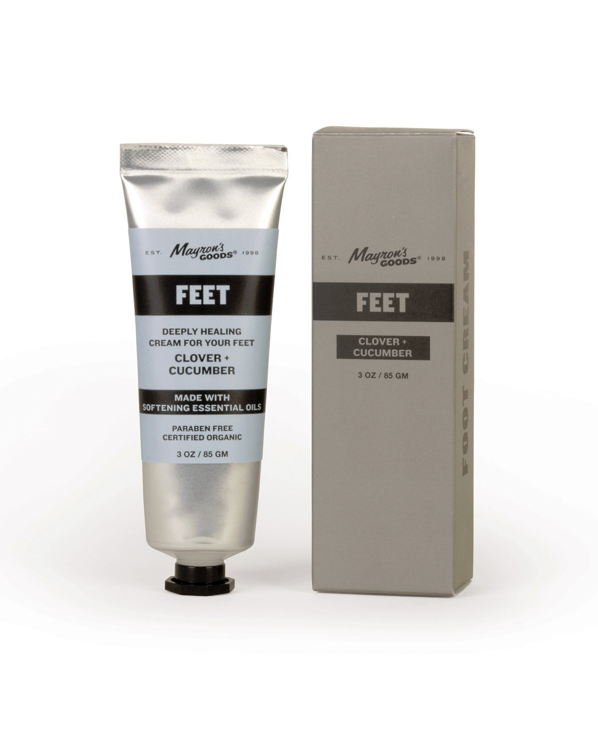 Clover-Cucumber Foot Cream by Mayron's Goods