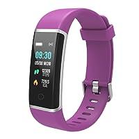 BingoFit Fitness Tracker Unique Impermeabile Sport Orologio Touchscreen Activity Tracker Fitness Braccialetto Pedometro con Contatore Passi e Calorie, Monitoraggio Sonno per Donne Bambini e Uomini¡