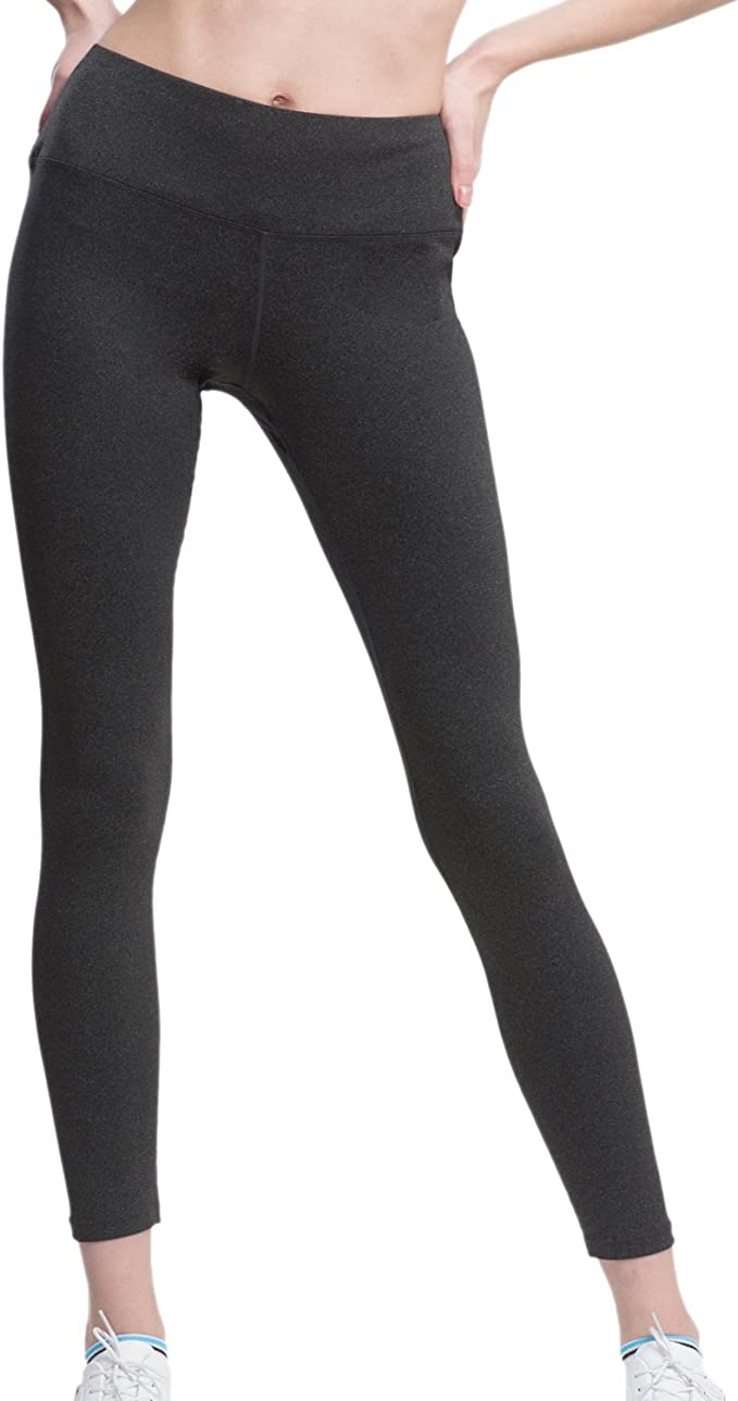 VFUN Sports Yoga Pants Women High Waist Tummy Control Running Leggings Hidden Pocket