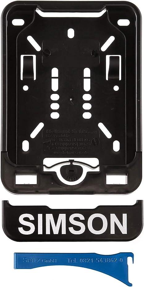 Mza Wechsel Kennzeichenhalterung Mit Aufdruck Simson Auto