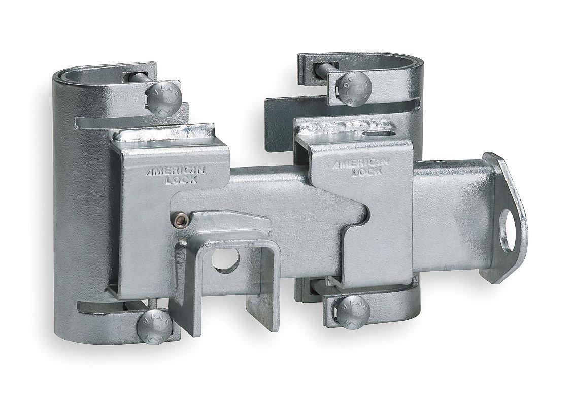 American Lock A810 Heavy Duty Gate Hasp, Silver