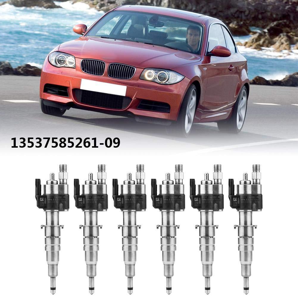 Keenso Fuel Injector INDEX 9 for BMW 135i 335i 535i 650i 740i 750i X6 740i  750i 750iX ALPINA B7 A (6pcs)