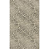 Leopards Want To Be Kissed Area Rug: Large Soft and Plush Stain Resistant
