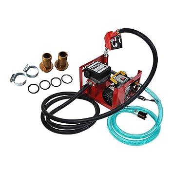 Kit de dispensador de bomba de combustible diésel eléctrico de transferencia de combustible, boquilla de combustible/aceite, bomba de biodiésel, 550 ...