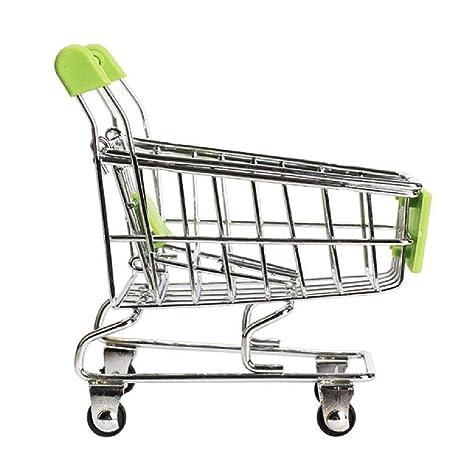 Cuerpo gran regalos Mini Supermercado Carrito de compras utilidad cesta modo de almacenamiento bebé juguetes color