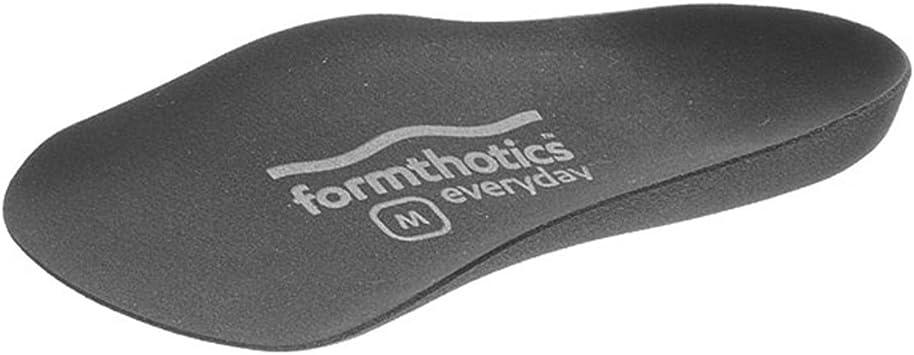フォームソティックス Formthotics Everyday インソール Fashion 3/4 黒