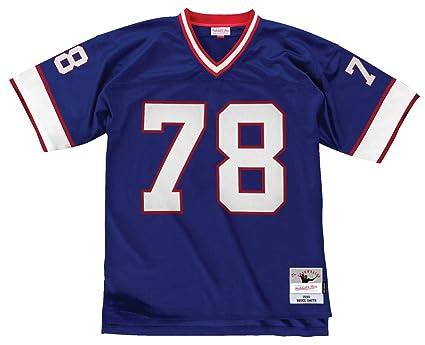 6a6d84ac7 Mitchell   Ness Bruce Smith Buffalo Bills NFL Throwback Premier Blue Jersey  ...