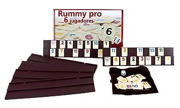 106 fichas de plastico macizo: Amazon.es: Juguetes y juegos