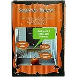 Halloween 1 X Pressure Sensitive Screaming Doormat Decoration Battery, Black