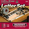 Milescraft 2202 1-1/2-Inch Horizontal Character Template Set for Milescraft Sign Making System by Milescraft Inc.
