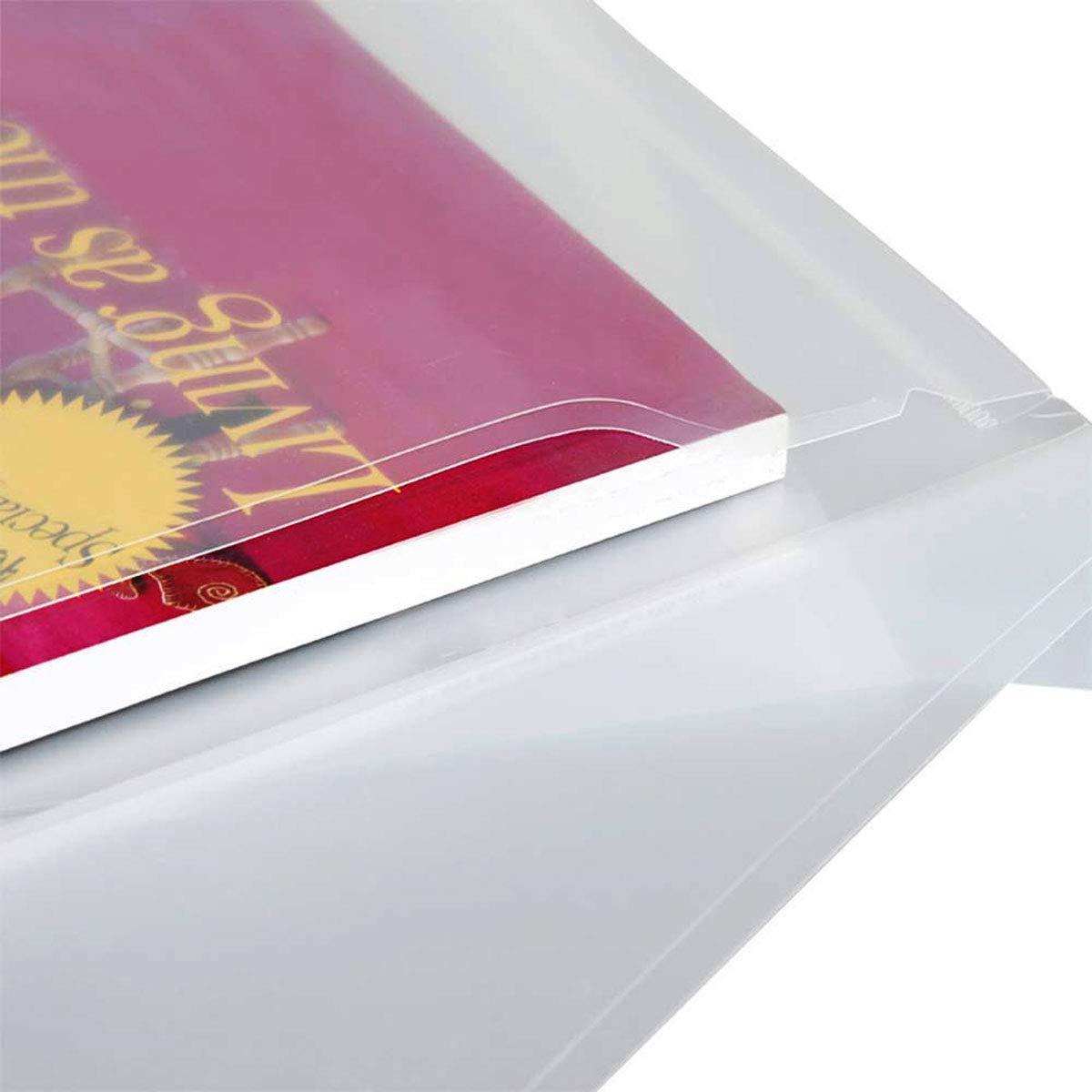 Dokumentenmappe 6 St/ück A4 Kunststoff