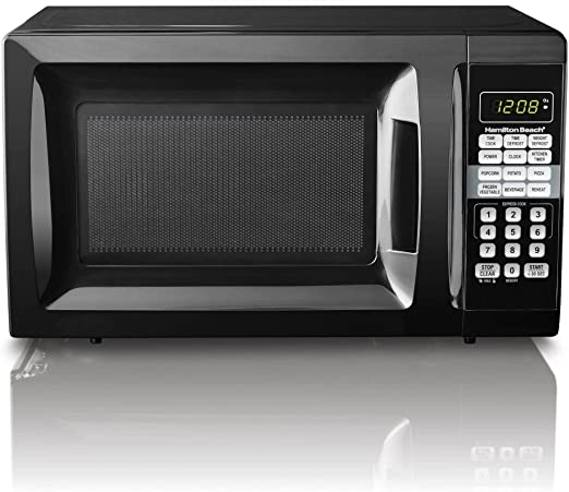 HB 700 Watt Microwave, .7 cubic foot capacity (Black)
