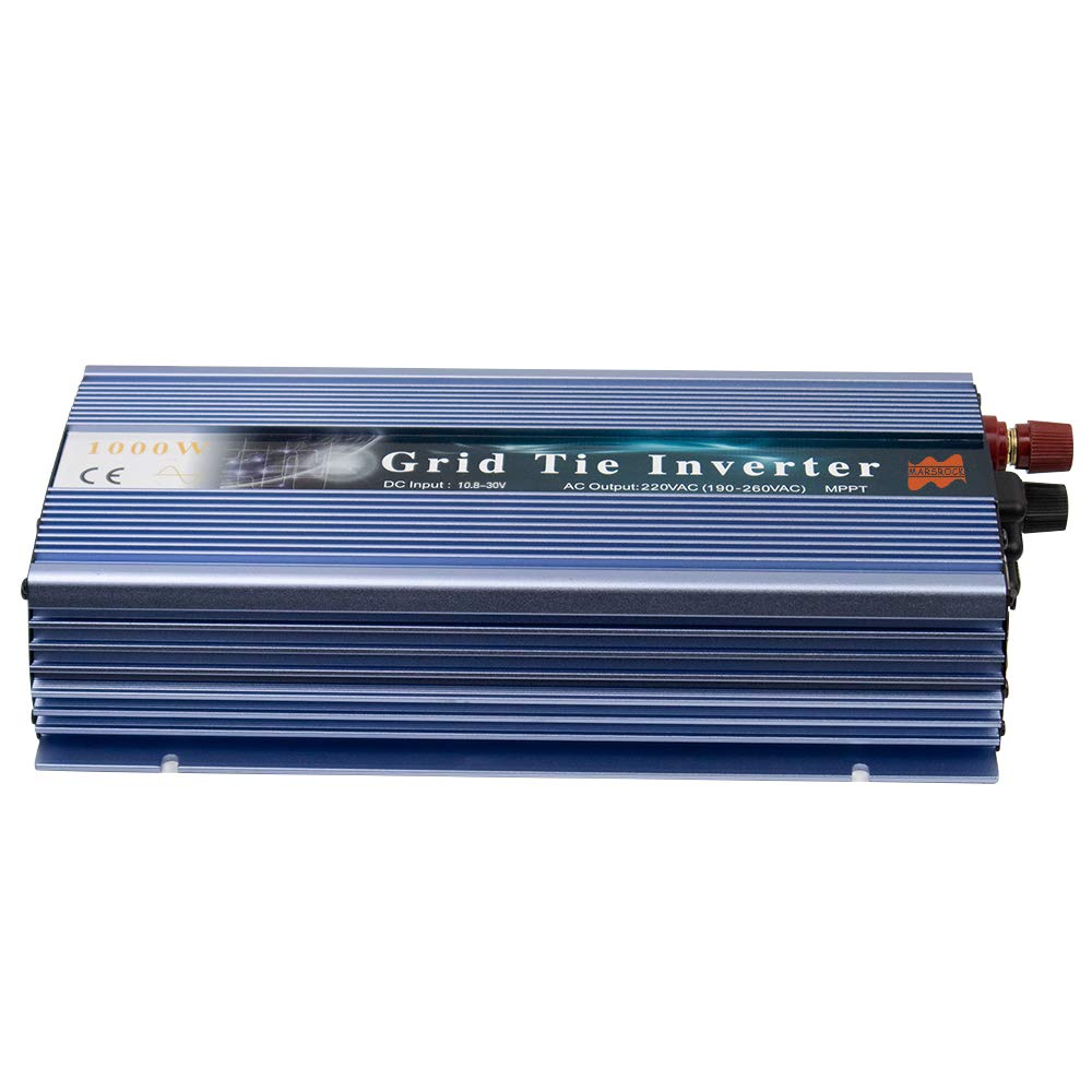 10.8-30VDC to 190-2600VAC MPPT Pure Sine Wave Inverter for 1200W 18V,30V 36V Solar Module System MARS ROCK 1000W Grid Tie Micro Solar Inverter
