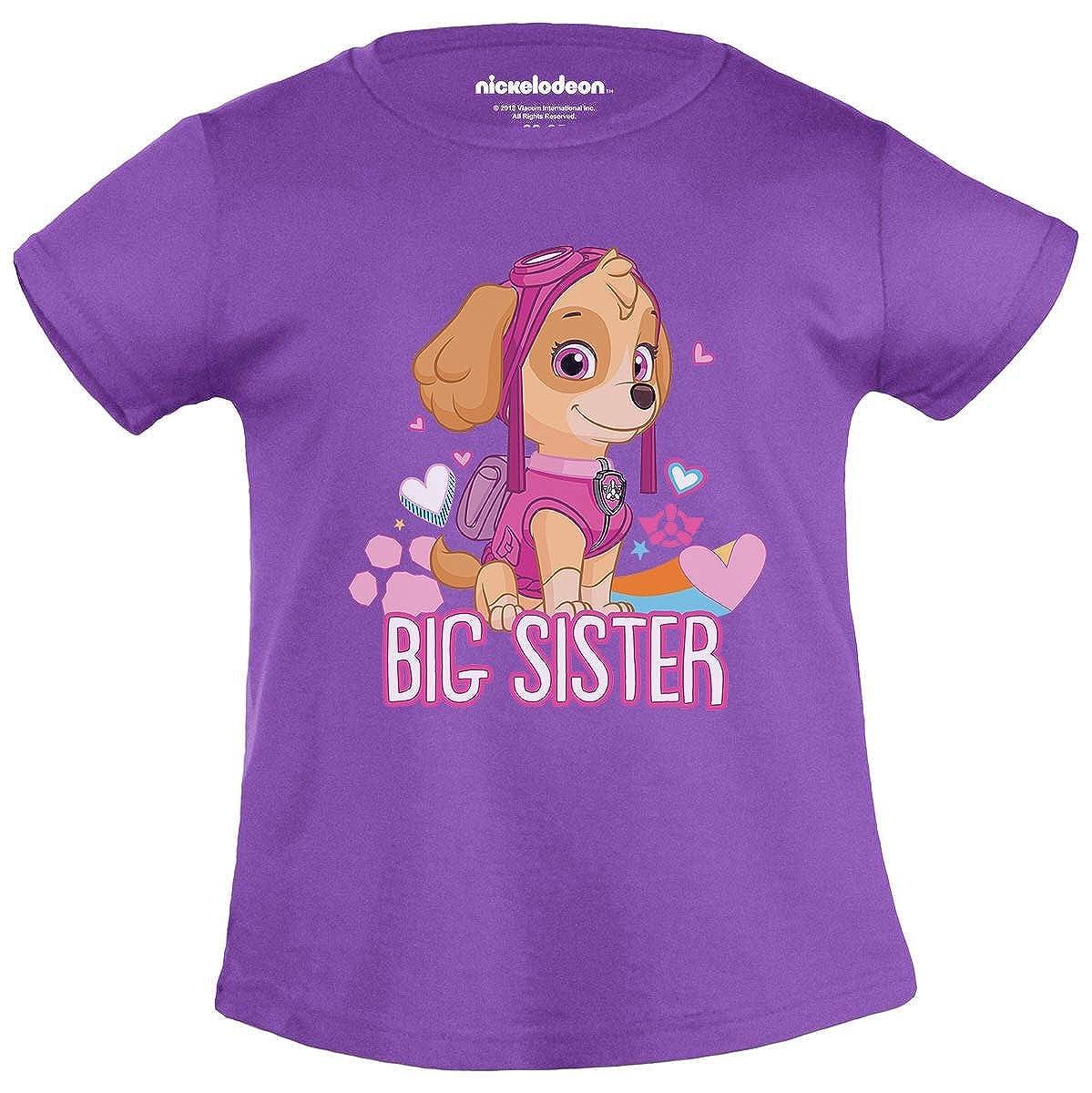 Skye Paw Patrol Squadra dei Cuccioli Sorella Big Sister Maglietta Bambina