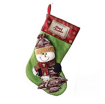Amazon.com: Aooki bolsas de regalo de Navidad, diseño de oso ...