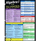 img - for Algebra I for Dummies, Deluxe Cheat Sheet book / textbook / text book
