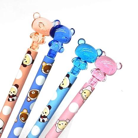 Lápiz de 4 colores para gatos, con diseño de huellas de kawai, para dibujar