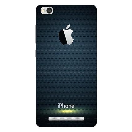 timeless design 7c701 4666c MSC Apple Logo Hard Polycarbonate Designer Back Case: Amazon.in ...