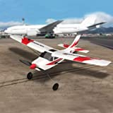 Funtech RC Airplane Remote Control Airplane 3 Channel with 2.4ghz Radio Control 6 Axis Gyro, Durable Epp Foam Easy to Fly for