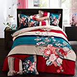 DHWM-A Woven Cotton Mill with four piece of Bed Twin full comforter sets, linens, bedding ,2.0m