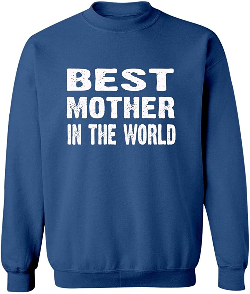 Sweatshirt Royal Blue Best Mother in The World Mothers Day