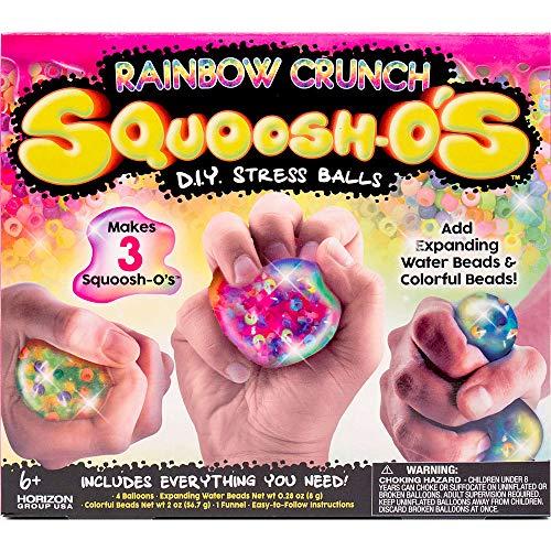 Rainbow Crunch Squoosh-o's DIY Stress Balls Craft Kit