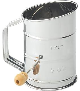 Amazon.com: Al-de-chef Tamizador de harina – 1 Copa ...