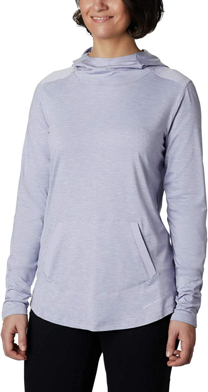 Columbia 哥伦比亚 Place to Place UPF 50 速干防晒 女式连帽套头衫 XS码4.4折$19.67 海淘转运到手约¥169