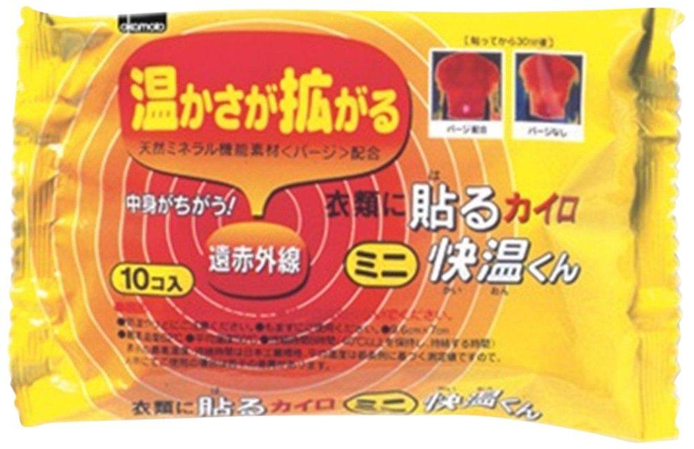 【ケース販売】衣類に貼る快温くん ミニ10P 48個入 B00ABV7EIY 10個×48パック