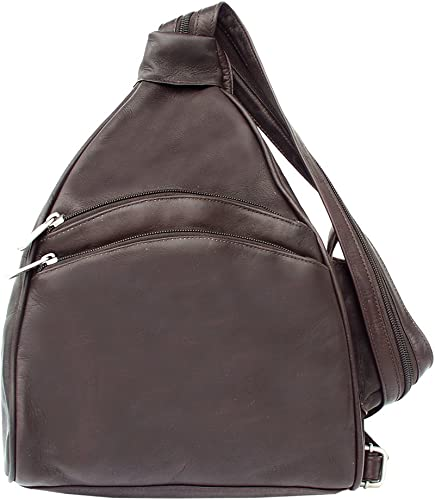 Piel Leather Two-Pocket Sling