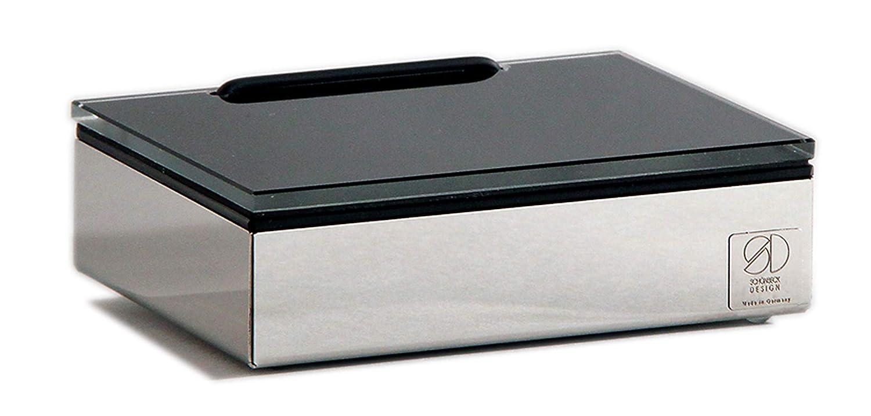 Schoenbeck Design Feuchttücherbox Glas schwarz: Amazon.de: Küche ...