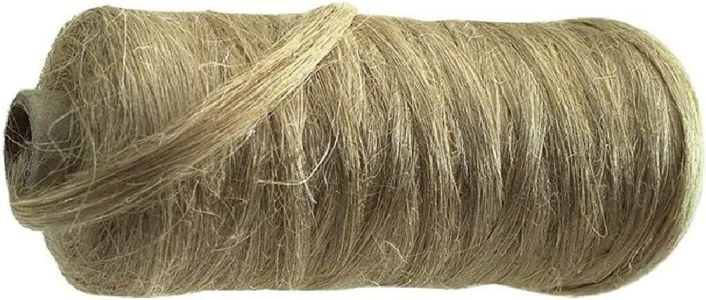 Dichtungshanf Spule ca 80-90 Gramm Hanf auf Pappkern gewickelt