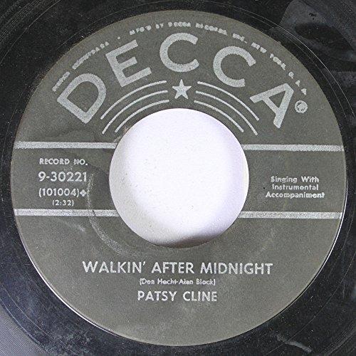Patsy Cline - Patsy Cline 45 Rpm Walkin