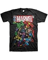 Officially Licensed Merchandise Marvel Comics Marvel Comics - Team-Up T-Shirt (Black)