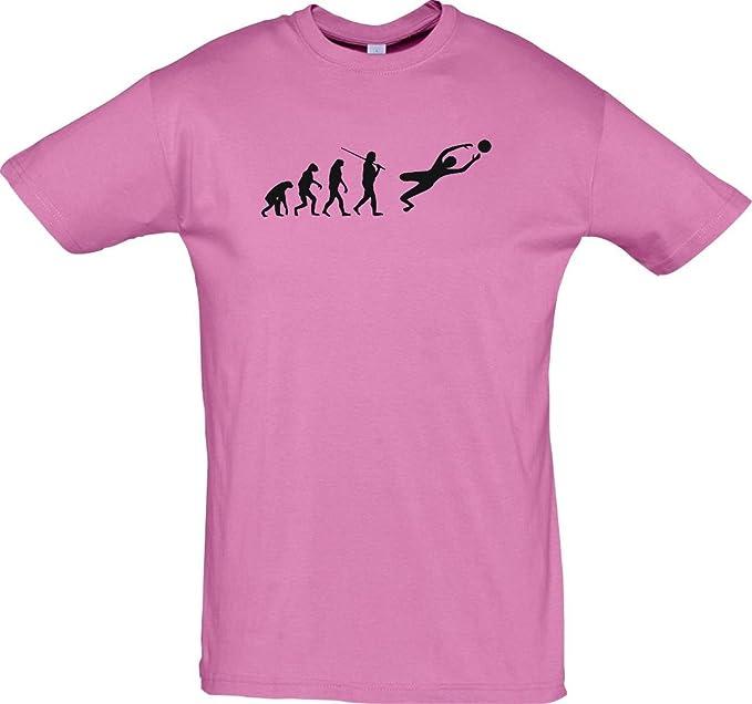Unbekannt Cocodrilo – Camiseta Evolution Fútbol portero Rosa Medium