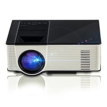 Proyectores portš¢tiles de video mini proyector LED de Nucer 1800 ...