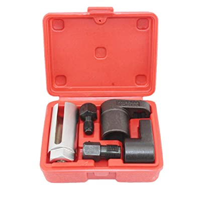 Oxygen Sensor Socket A7841F-FBA Offset Wrench Remover Tool and Thread Chaser Set 5 PCS set: Automotive