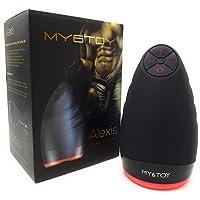 My6Toy Masturbieren Mann - Mund Mit Vibration Heizung Bis 40 Grad - Sexspielzeug Männer - Erotik Sex Spielzeug - Vibratoren Für Ihn - Toyset For Men
