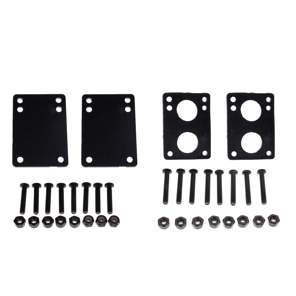 Baoblade Longboard//Skateboard Shockpads//Riser Pads 2pcs-Set