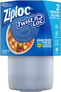 Ziploc Twist 'n Loc 32 oz Container
