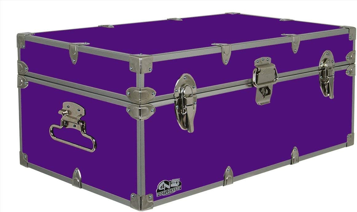 C N Footlockers Happy Camper Storage Trunk