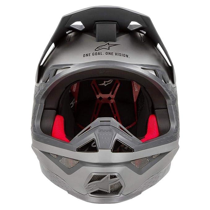 Amazon.es: Cross Casco Alpinestars Supe rtech S de M10 MX Casco Motocross Carbon
