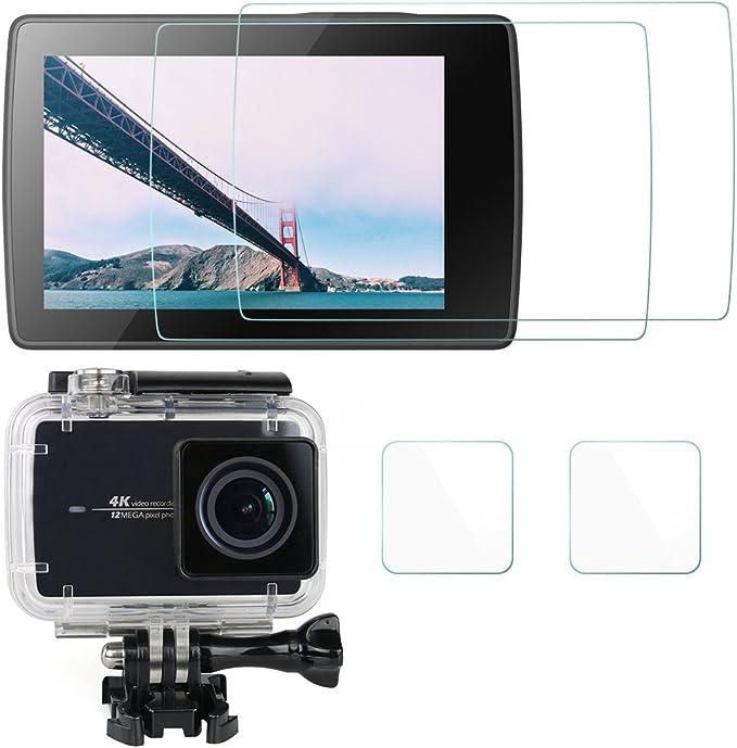 2x Displayschutz Klar für Insta360 One R 1-Inch Edition Dual-Lens 360 Mod