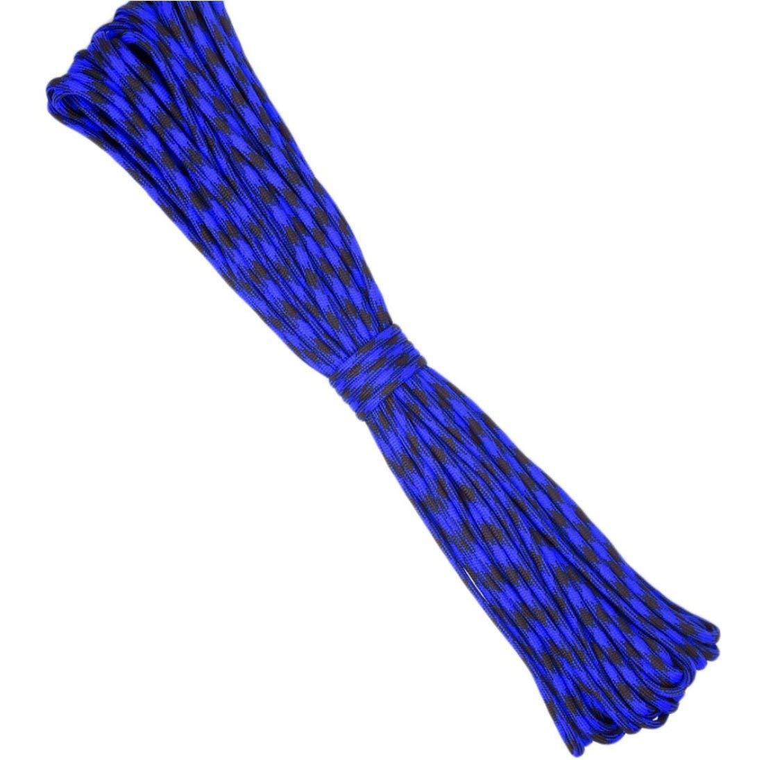 Togames-ES Paracord Cuerda de paraca/ídas Cuerda Tipo III 7 Hilos N/úcleo 50 100 pies