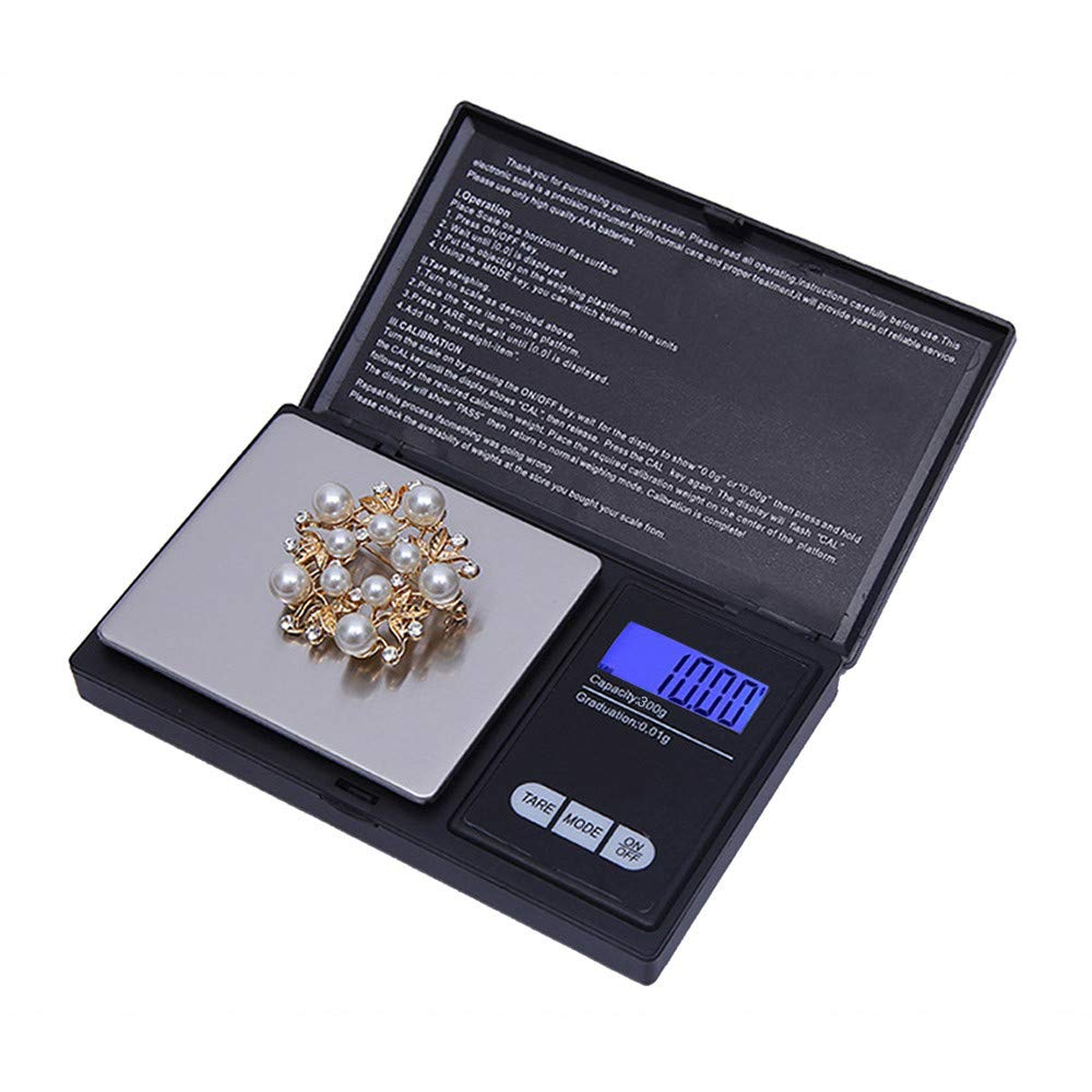 Ugood 2019 300g/0.01g High Precision Digital Electronic Scale for Jewelry Reloading Kitchen by Ugood_ (Image #7)