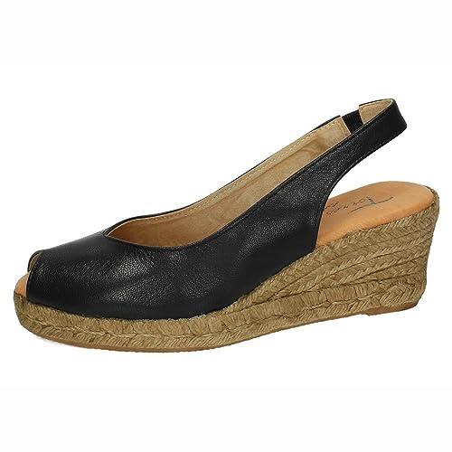 TORRES 5018 Alpargatas Negras Mujer Alpargatas: Amazon.es: Zapatos y complementos