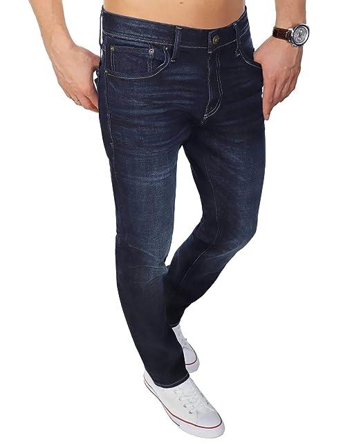 many fashionable new design where to buy Jack & Jones Mens Clark Original Am836 Straight Leg Jeans in ...