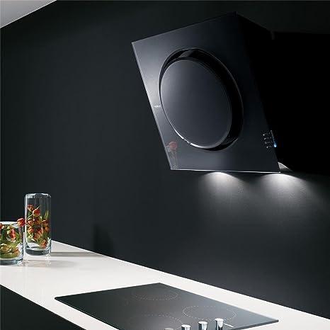 Campana Cocina Elica pared negra Mini Om 55 cm: Amazon.es: Grandes electrodomésticos