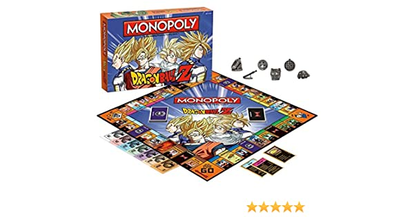 Monopoly Dragon Ball Z: Amazon.es: Libros en idiomas extranjeros