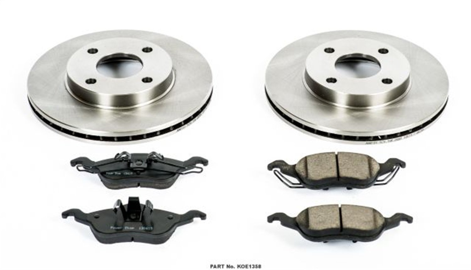 Autospecialty KOE1358 1-Click OE Replacement Brake Kit